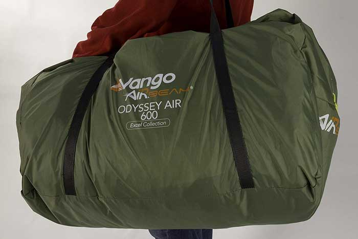 Vango Odyssey Inflatable Family Tunnel Tent Bag
