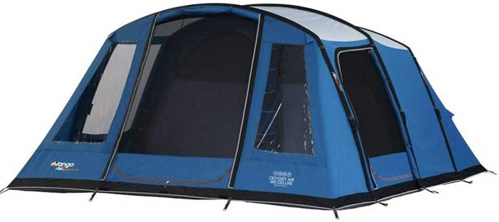Vango Odyssey Inflatable Family Tunnel Blue