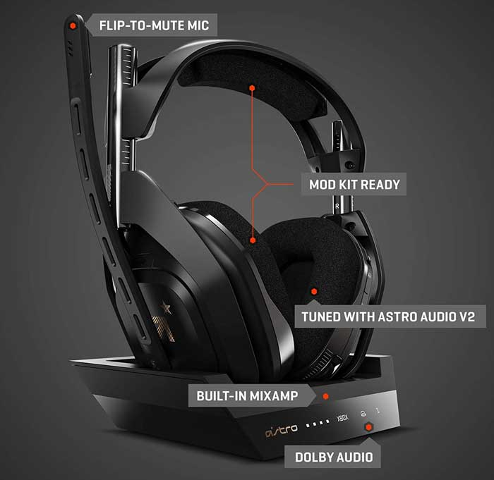 wireless headset a50